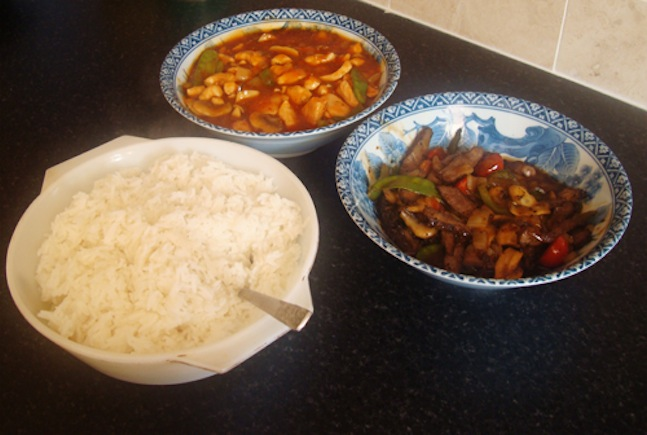 Collection of Chinese Dishes
