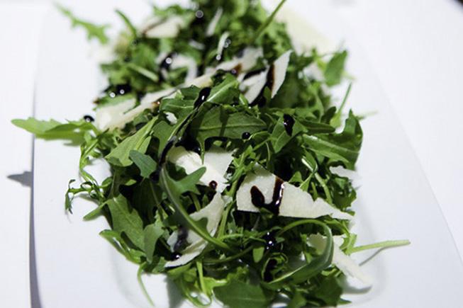 Rocket Parmesan Balsamic Glaze Salad Ananyah