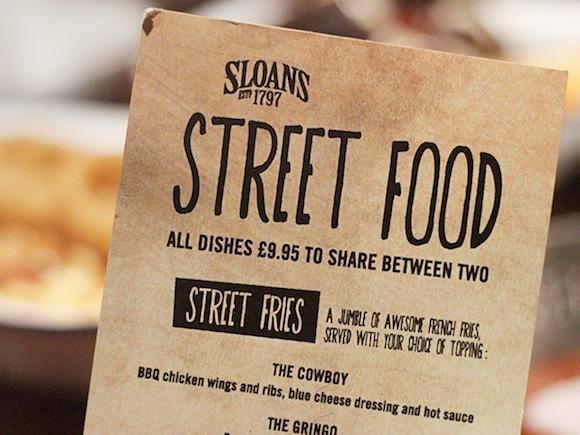 Sloans Street Food Launch