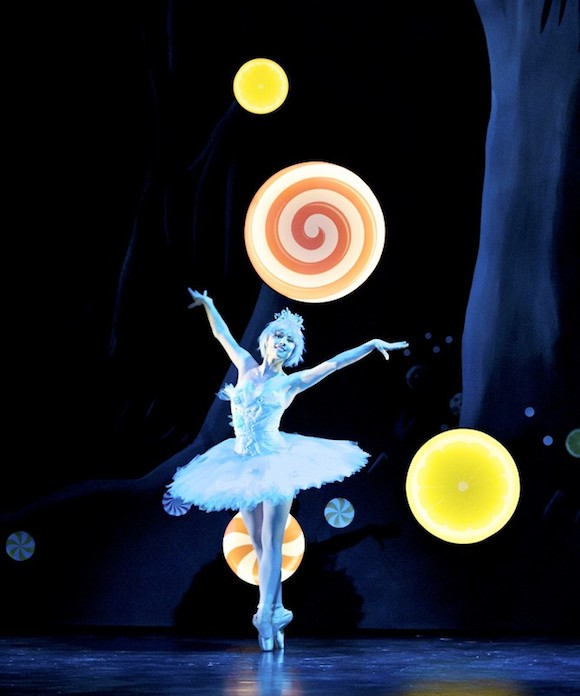 Bethany Kingsley-Garner as the Dew Drop Fairy in Christopher Hampson's Hansel & Gretel