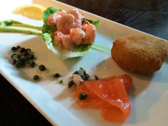 Grill Seafood Taster