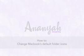 how to change default folder color on mac