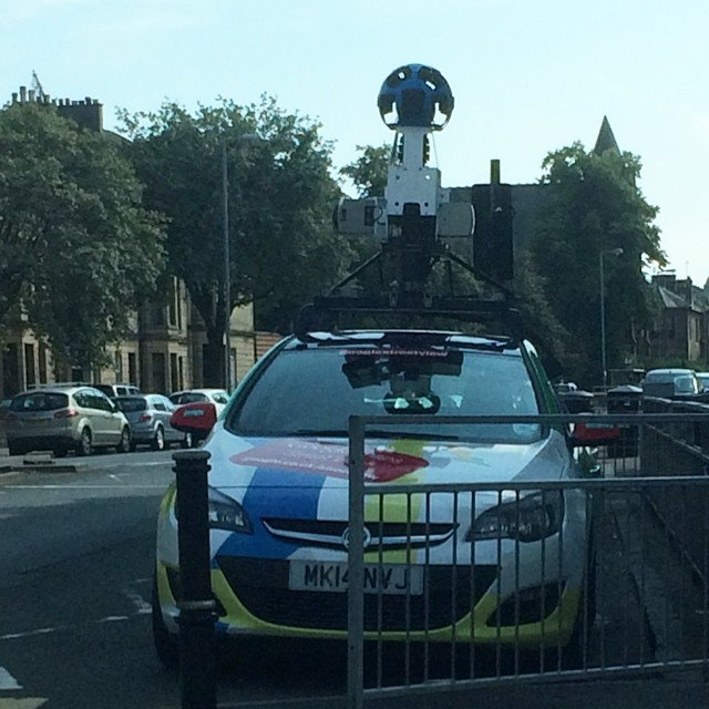Spotted: Google Street Car in Paisley