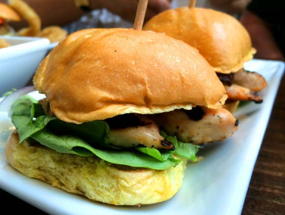 Handmade Burger Company Silverburn Chicken Sliders