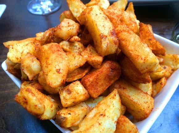Handmade Burger Company Silverburn Paprika Chips