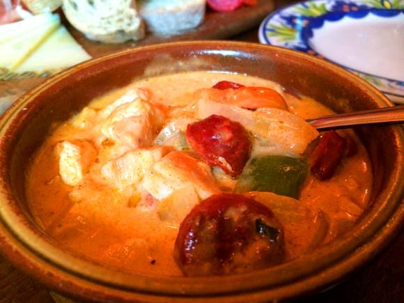 La Tasca Silverburn Tapas Cream Chicken