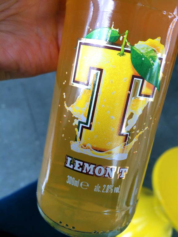 Tennent's Lemon T Lager Bottle
