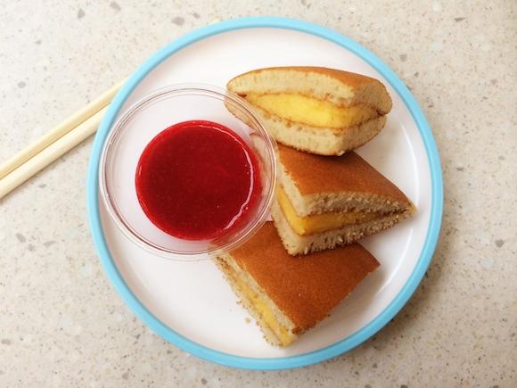 Yo Sushi Silverburn Custard Pancakes