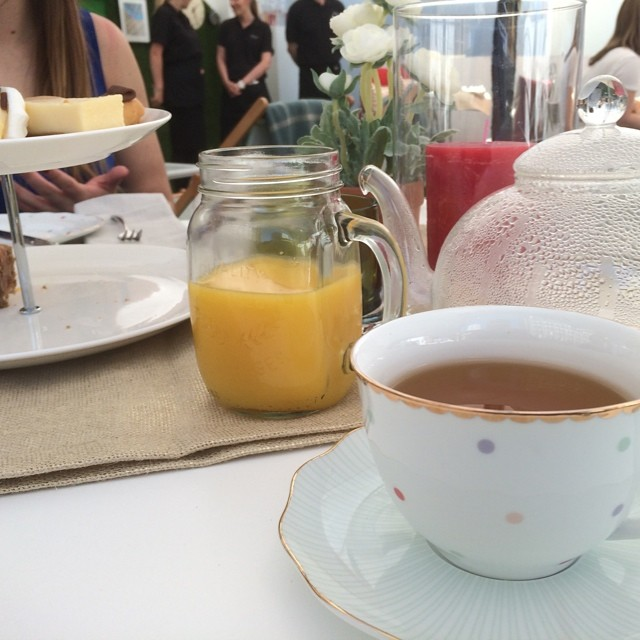 Afternoon Tea with #JLTeaonGreen @johnlewisretail