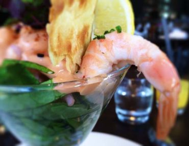 Blythswood Square- Prawn Cocktail with Avocado Closeup
