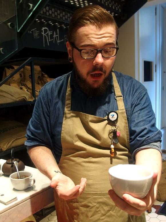 Gordon Street Coffee- Coffee Talk with Barista