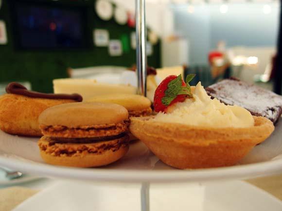 John Lewis Tea On The Green- Afternoon Tea Cakes
