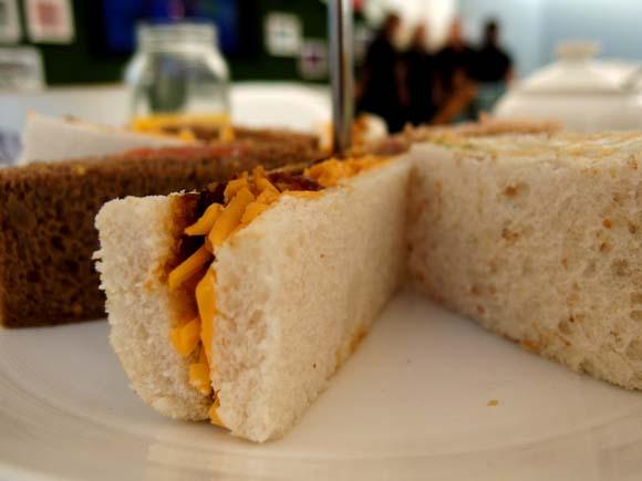 John Lewis Tea On The Green- Afternoon Tea Sandwiches