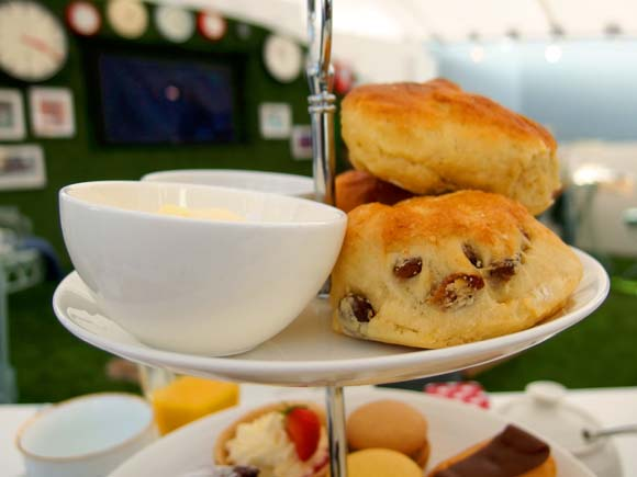 John Lewis Tea On The Green- Afternoon Tea Scones