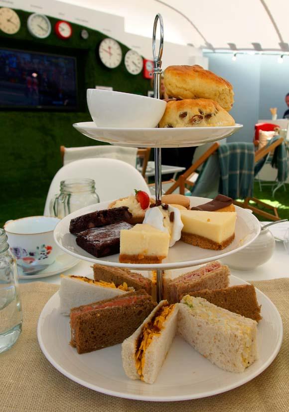 John Lewis Tea On The Green- Afternoon Tea