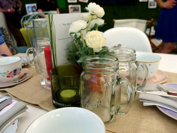 John Lewis Tea On The Green- Table Setting