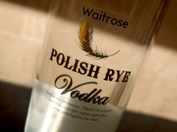 Waitrose Summer Cocktail Polish Rye Vodka