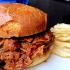The Magnum Edinburgh Pulled Pork Sandiwch in a Rich BBQ Sauce