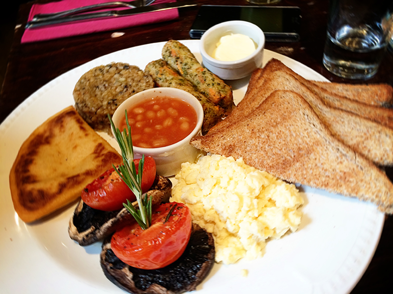 The Bothy- Vegetarian Breakfast