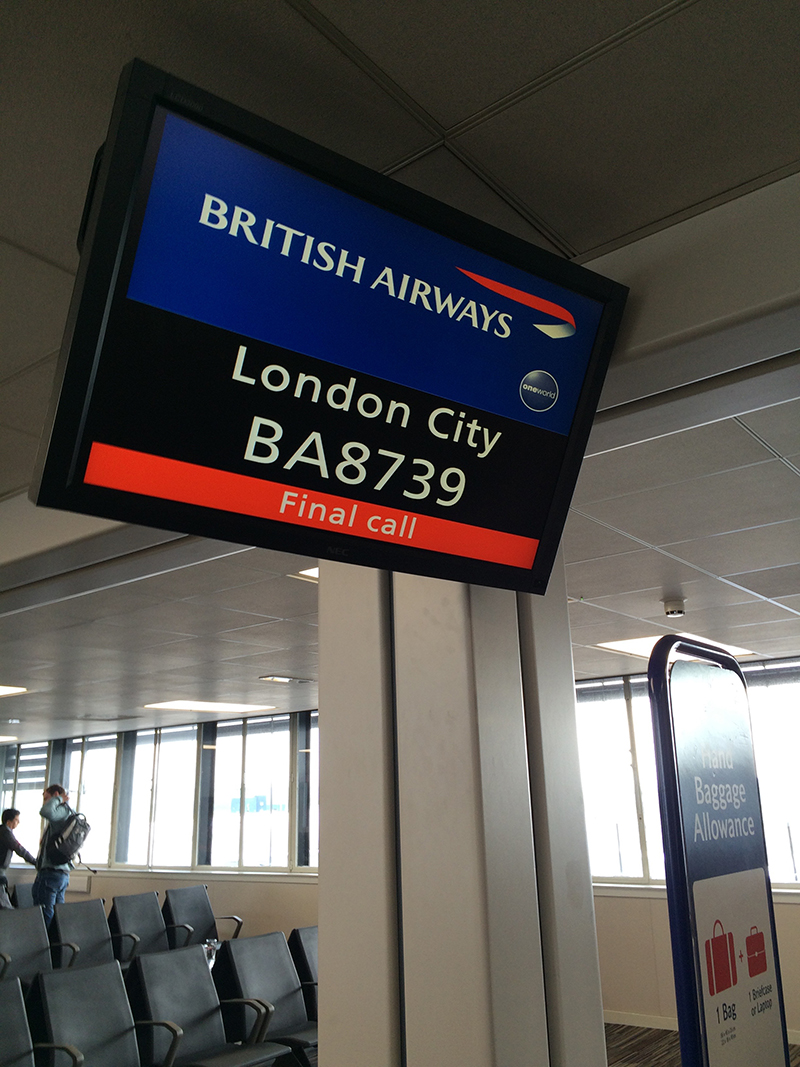 72 hours in London- Glasgow Airport