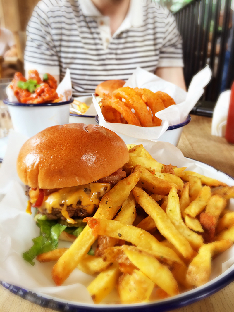 72 hours in London- Honest Burgers