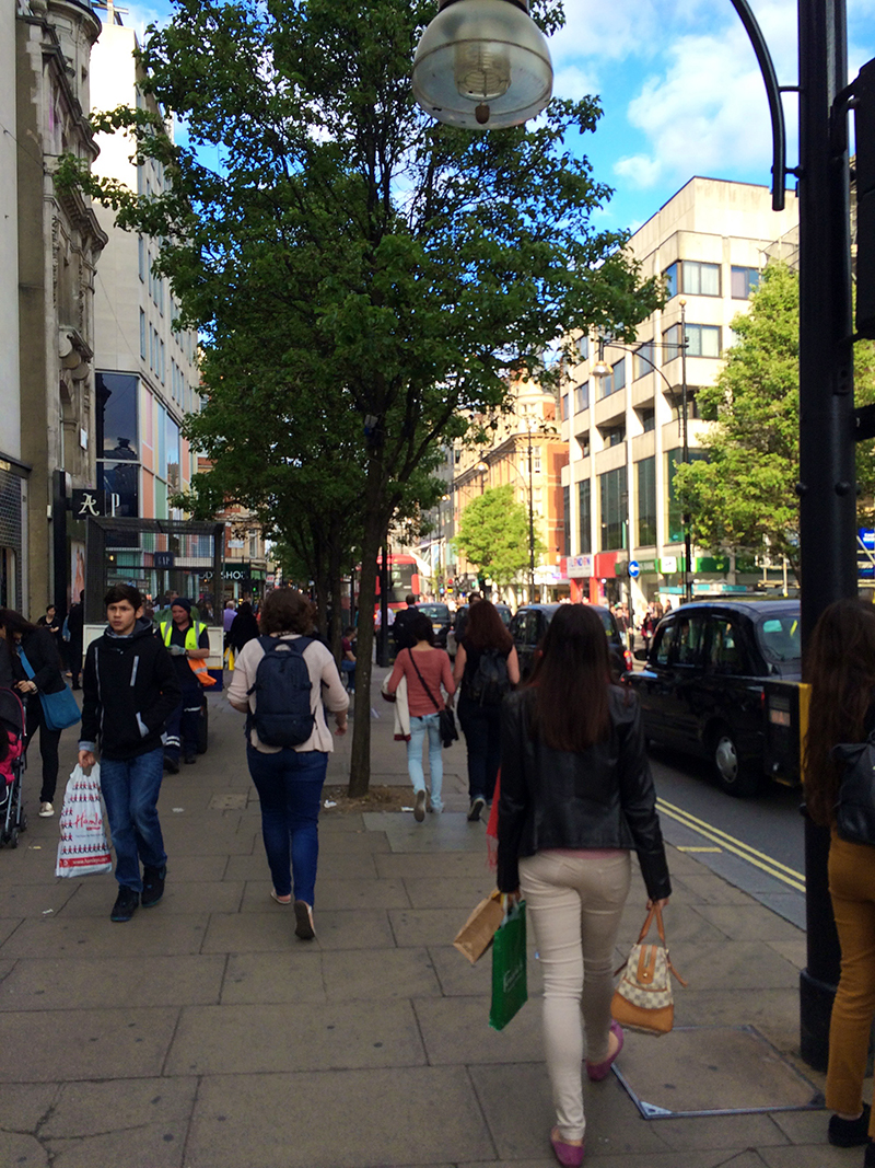 72 hours in London- Oxford Street