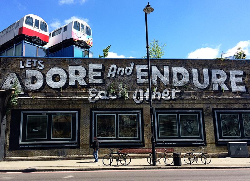 72 hours in London- Shoreditch Street Art