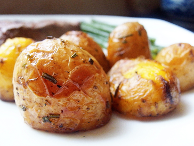 Donald Russell- Rosemary Roast Potatoes