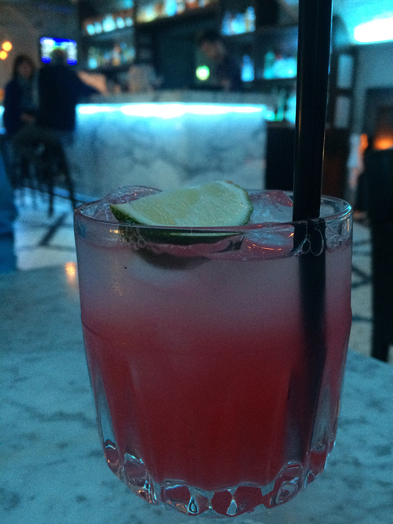 Alston Bar & Beef- Grapefruit Mocktail