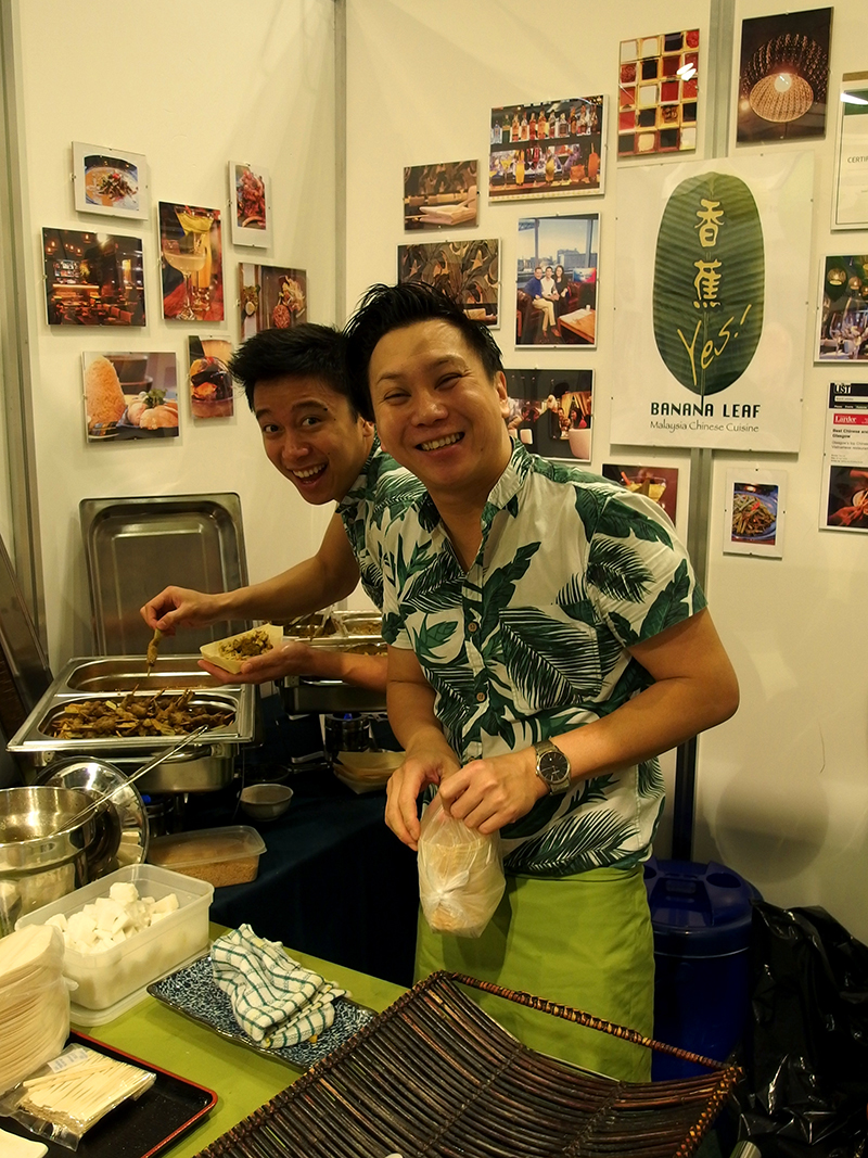 BBC Good Food Show Scotland 2015- Banana Leaf Malay Chinese