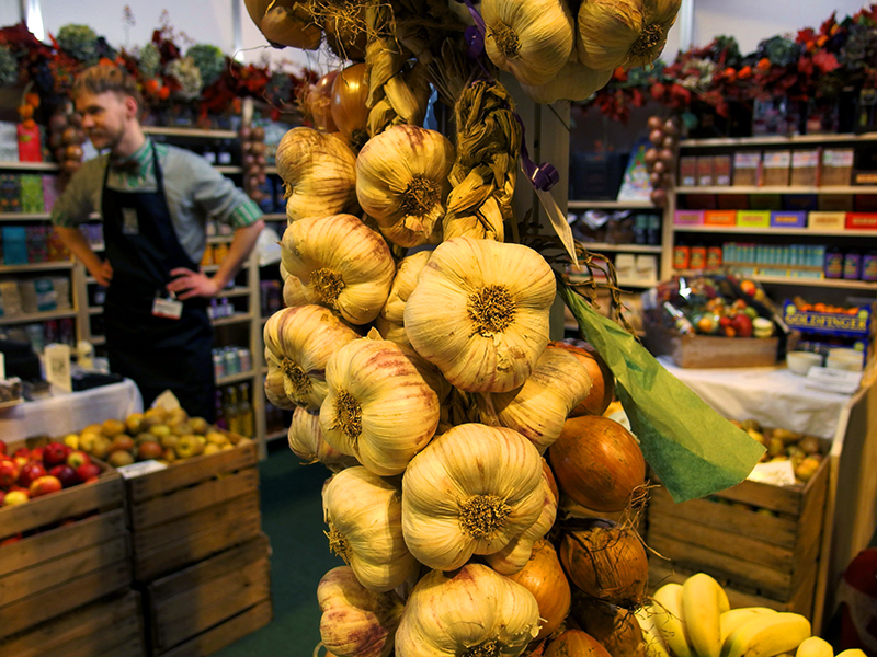 BBC Good Food Show Scotland 2015- Roots Fruits and Flowers