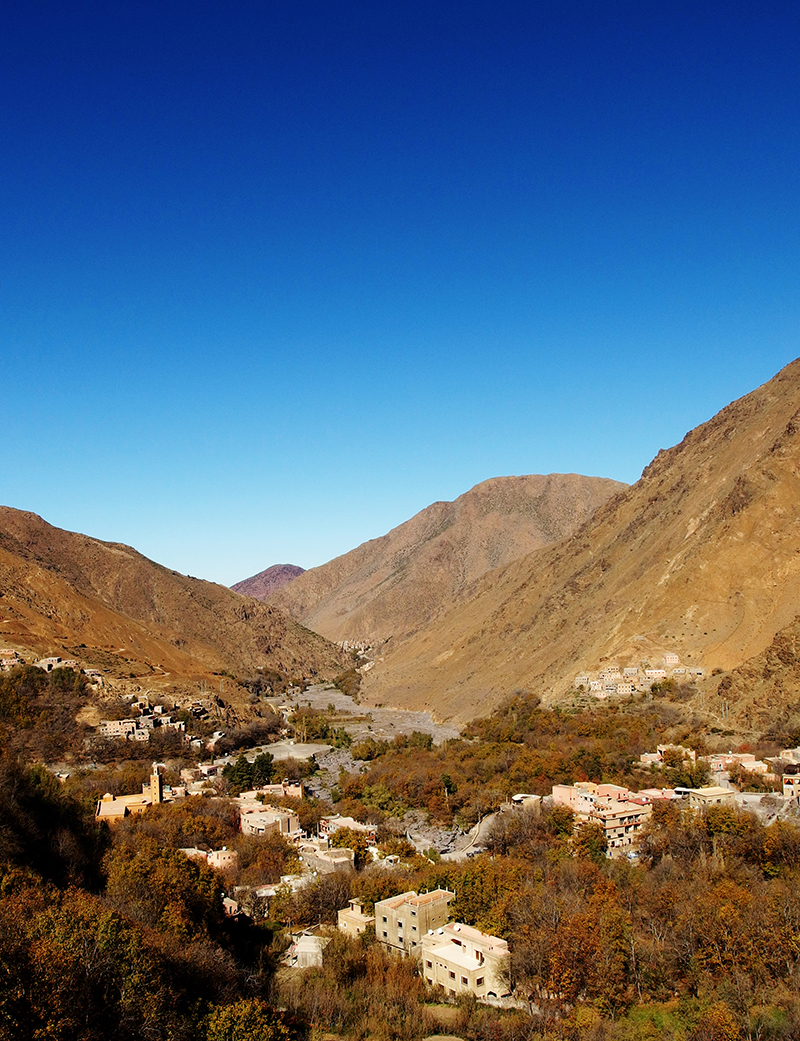 Atlas Mountains- Marrakech- Imlil Valley