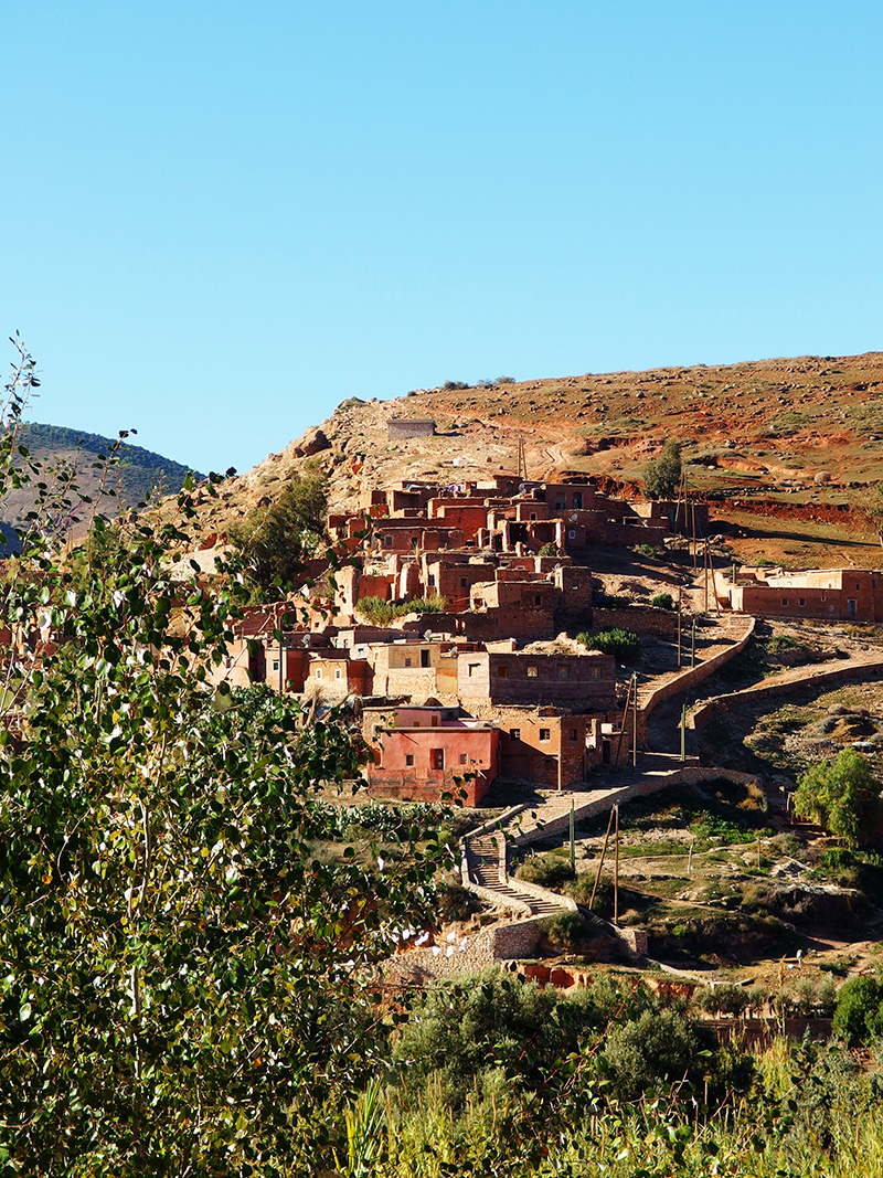 Atlas Mountains- Marrakech- Mountain Houses