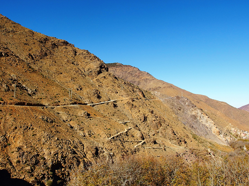 Atlas Mountains - Marrakech- Winding Path