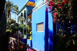 Majorelle Gardens- Studio Majorelle Blue