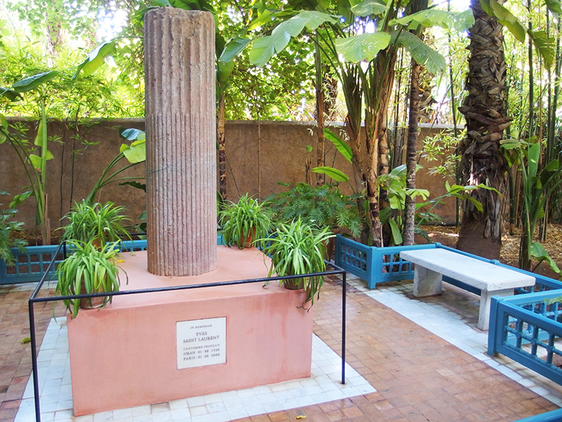Majorelle Garden - Yves Saint Laurent Memorial