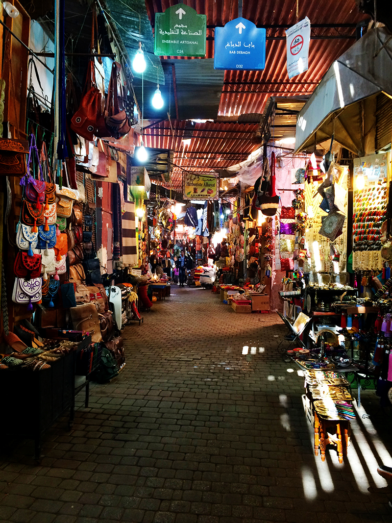 Ananyah- Marrakech Souk- Alley
