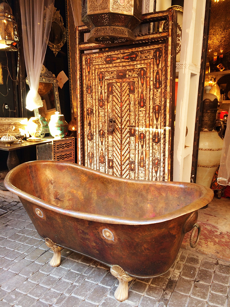 Ananyah- Marrakech Souk- Bathtub