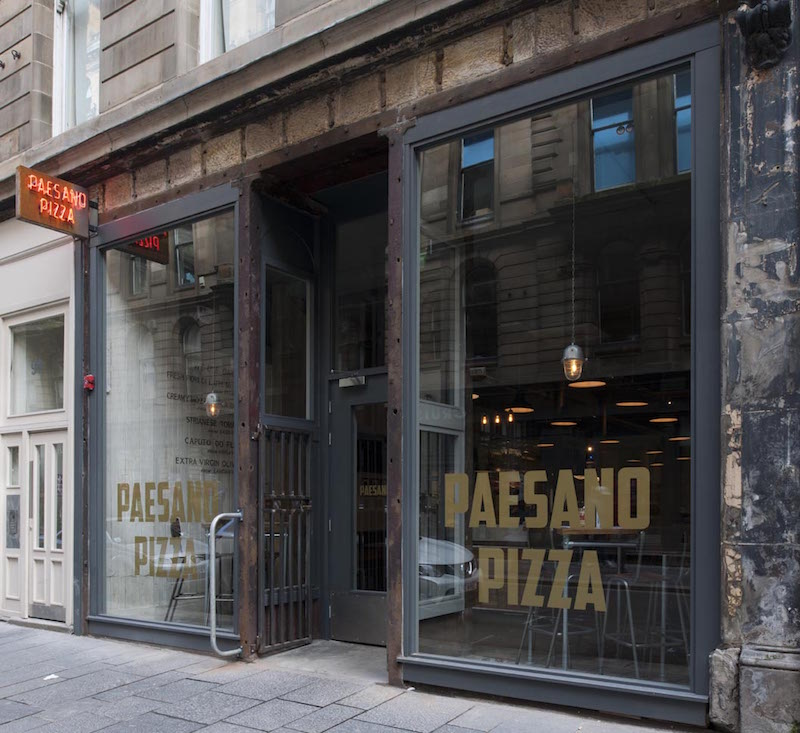 Ananyah- Paesano Pizza Exterior