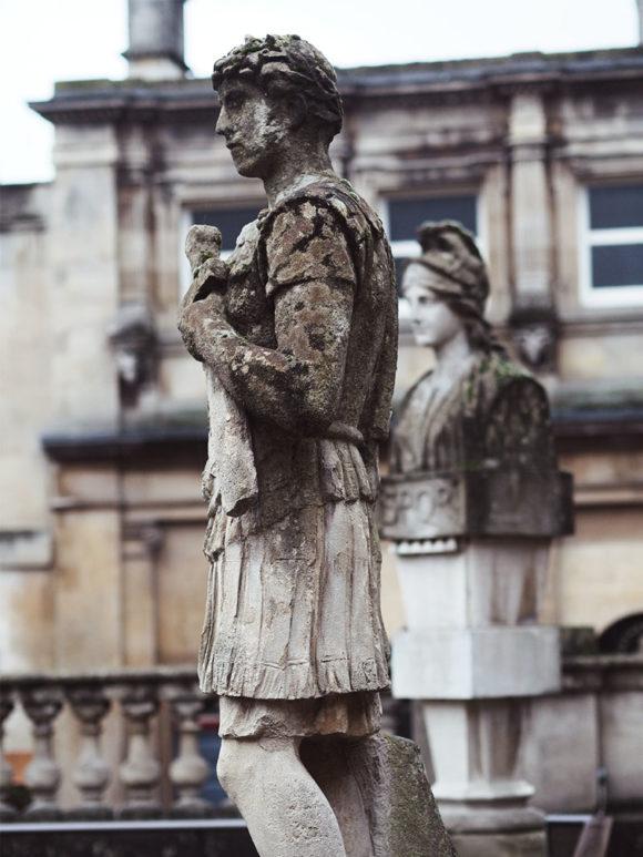 Exploring The Roman Baths- Roman Statues