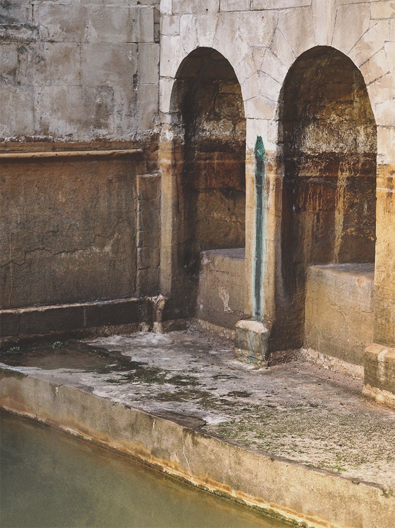 Exploring The Roman Baths- Sacred Spring