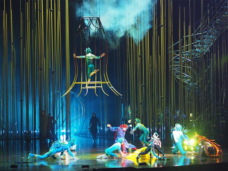 Cirque du Soleil Varekai- Cage Dancing