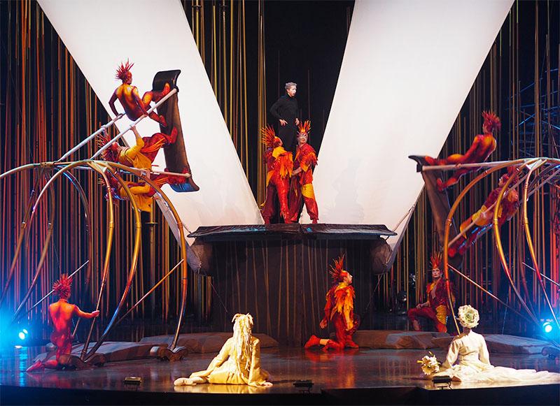 Cirque du Soleil Varekai- Russian Swings
