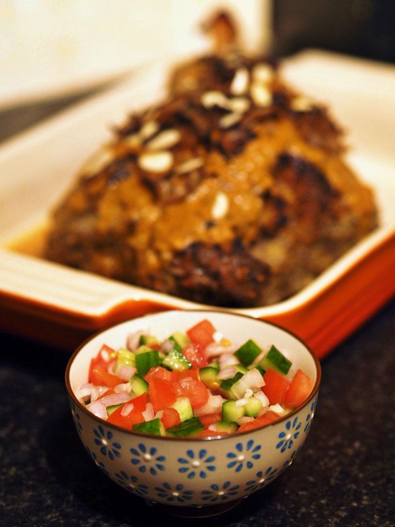 Raan Mussalam- Shiraz Salad