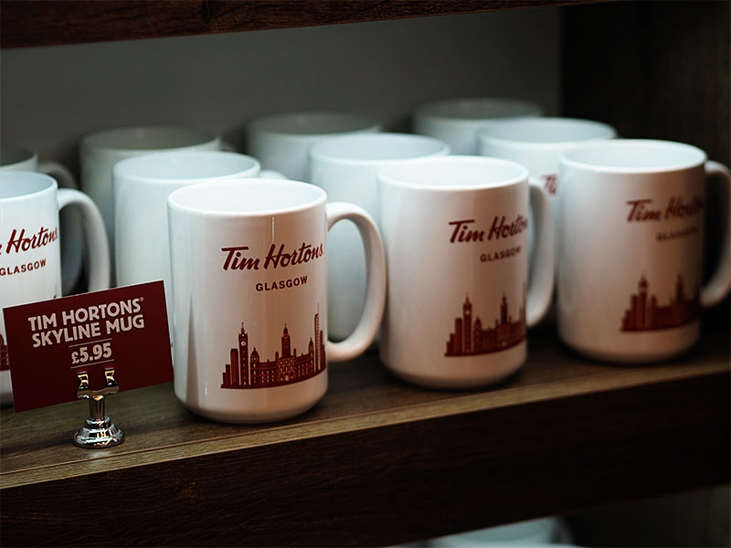 Tim Hortons Glasgow UK- Glasgow Mug