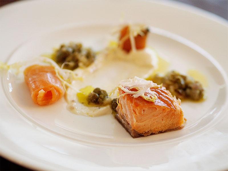 MacDonald Forest Hills Hotel & Spa- John Ross Jr Smoked Salmon