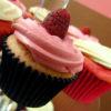 Raspberry Cupcakes, Snuggle Muffin