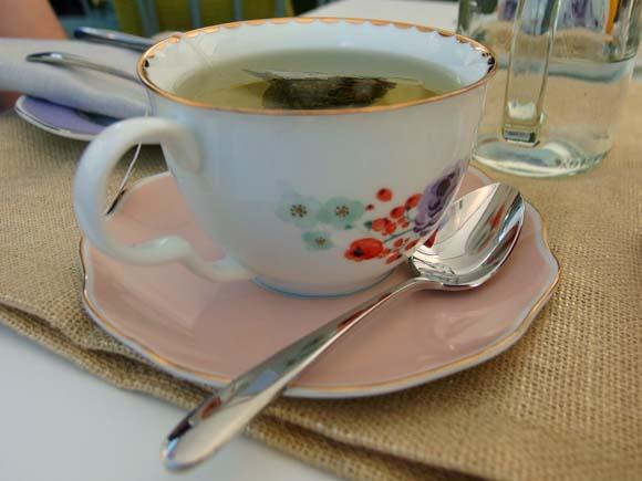 John Lewis Tea On The Green- Peppermint Tea