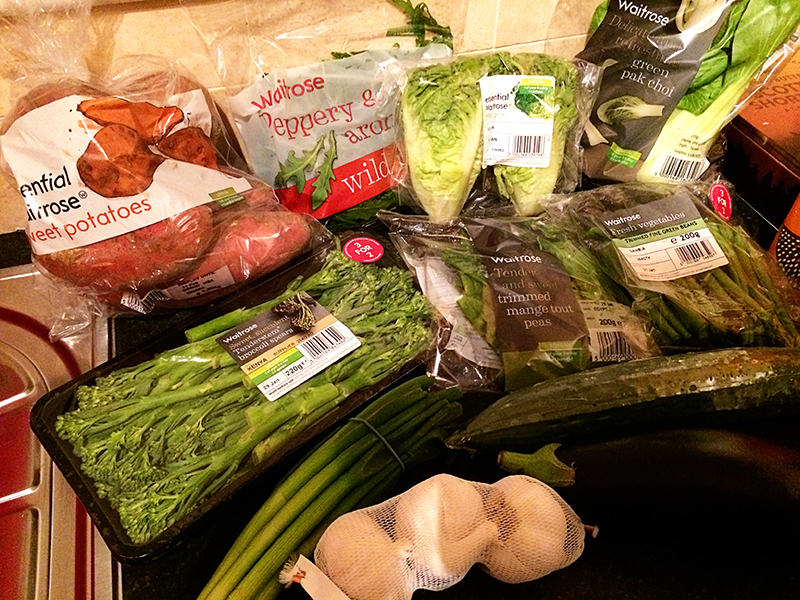 Ananyah- Waitrose Healthy Food Swaps- Vegetables