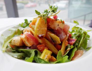 Asparagus and Mozzarella Salad